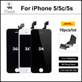 10PCS/LOT AAA Quality LCD Replacement Pantalla For iPhone 5s iPhone 5c iphone 5 LCD Screen Display Digitizer Assembly DHL Free