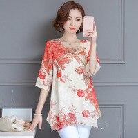 Big Size Blouse Women Tops Cheap Clothes China Female Blusa Feminina Shirts Ladies Casual Summer Blouse Tops 2018 Chiffon Shirts