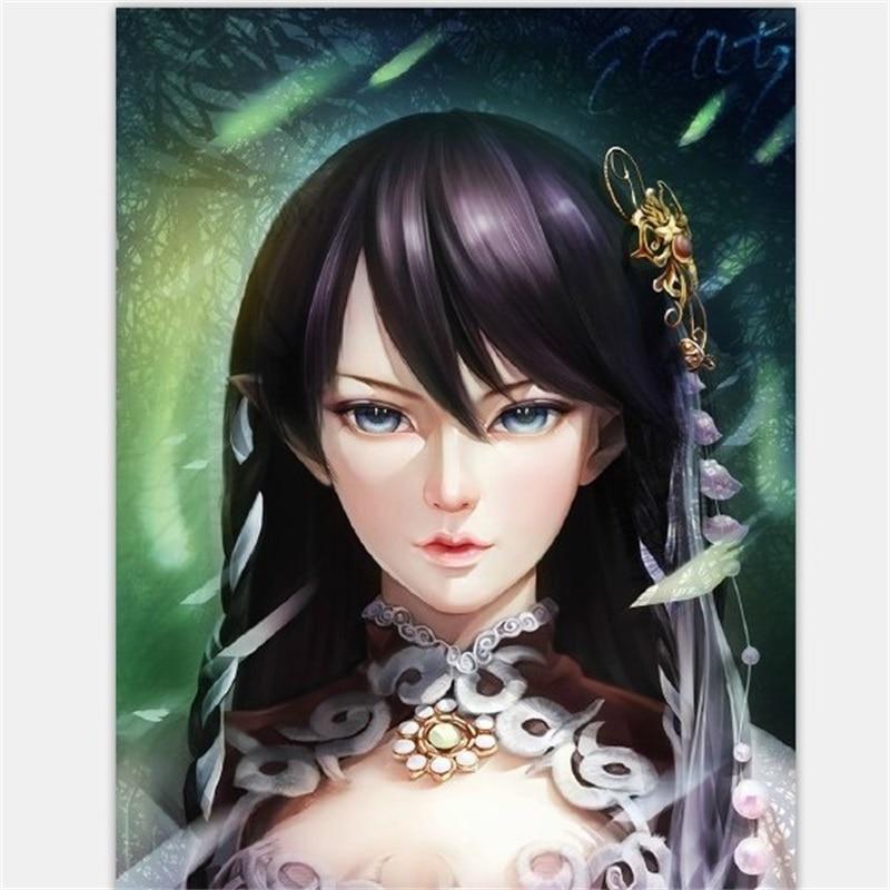 New Arrival Minifee Siean ELF BJD Doll 1/4 Empress Of Sword Flexible Figure Female Heroine Swordswoman Toy For Girl Fairyland FL