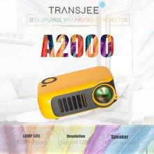 Портативный мини-проектор 800 люмен поддержка s 1080P lcd 50000 часов лампа Жизнь Домашний кинотеатр видео проектор Поддержка power Bank