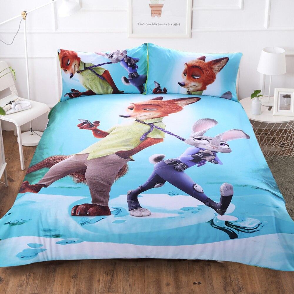 3d Cartoon Bedding Sets 100% Cotton Linens Space Full Duvet Covers for Children Queen King Bed Sheet King Comforter Set Linens E