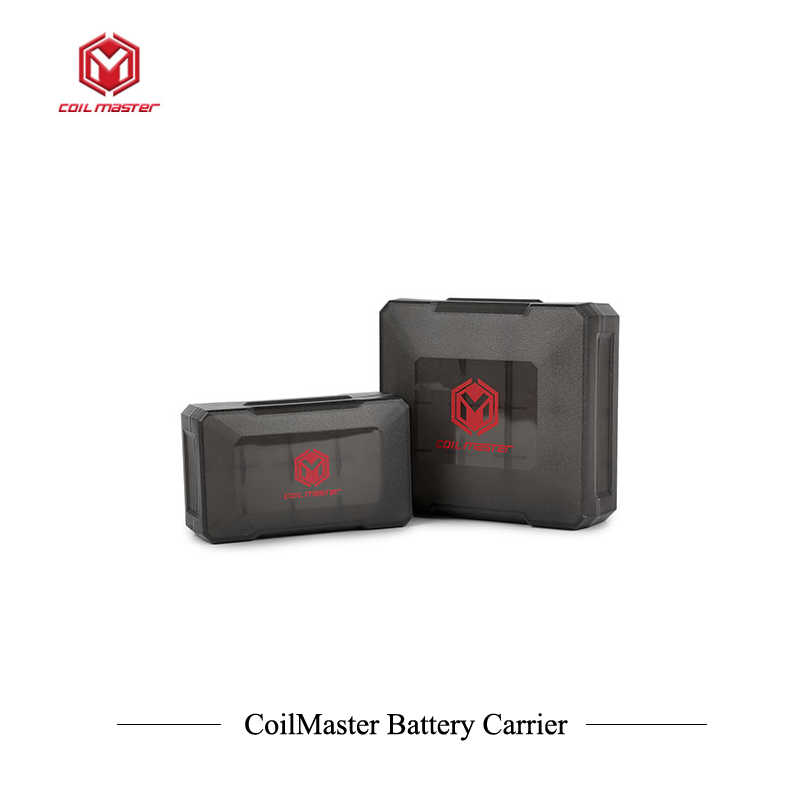 Original Coil Master B2 B4 Battery Carrier for Double/Quadruple 18650 battery (no 18650 battery)