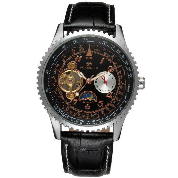 Fashion Design Luxury Watches Men Mechanical Self Wind Automatic Watch Sports Skeleton Wristwatches Relogio Relojes