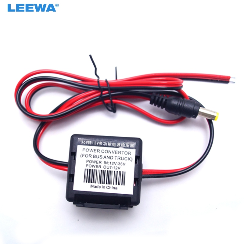 LEEWA 10pcs 12V T0 36V Car Stereo Power Supply Noise Filter Remove For LED Light or