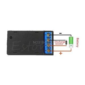 Image 3 - 1 adet lityum Li ion 18650 pil test cihazı kapasitesi akım gerilim dedektörü LCD metre damla nakliye
