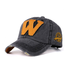 Summer women Baseball Cap Snapback Caps Cotton Embroidery Letter W Bone casquette Hat Distressed Wearing Fitted Hat For Men Hats цена в Москве и Питере