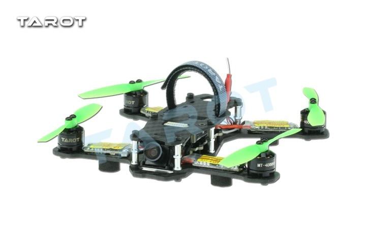 Tarot TL130H1 RTF Mini Racing Drone Alien 130 Quadcopter Carbon Fiber Frame with Controller Motor ESC Prop FPV Parts F17840 rc plane 210 mm carbon fiber mini quadcopter frame f3 flight controller 2206 1900kv motor 4050 prop rc