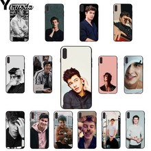 Yinuoda Hit pop singer Shawn Mendes Magcon Pattern TPU Soft Phone Case for Apple iPhone 8 7 6 6S Plus X XS MAX 5 5S SE XR Cases