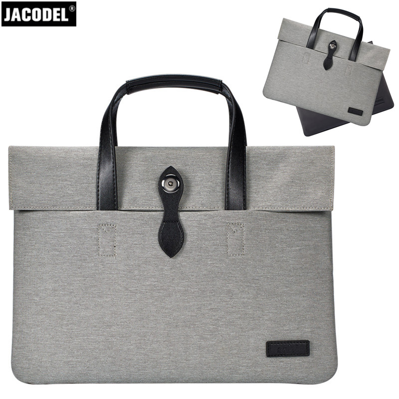 Jacodel Womens Laptop Briefcase Bag for Macbook Air 13 14 15 Macbook Women Notebook Bag for Xiaomi air 13.3 15.6 Laptop Case