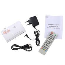 HDMI HD 1080 P Без VGA Версия DVB-T2 TV Box А. В. CVBS Приемник Тюнер с Пультом Дистанционного Управления цифровой Terrestriial приемник(China (Mainland))