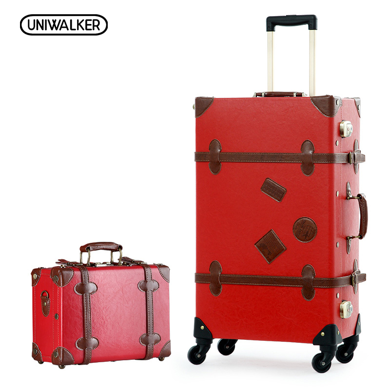 Compare Prices on Red Vintage Suitcase- Online Shopping/Buy Low ...