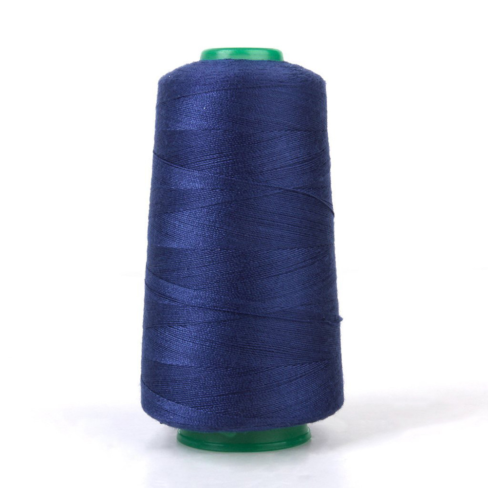 20S/2 1 Spool Sewing Machine Industrial Polyester Jeans Sewing Thread for Sewing Machine (Dark Blue)