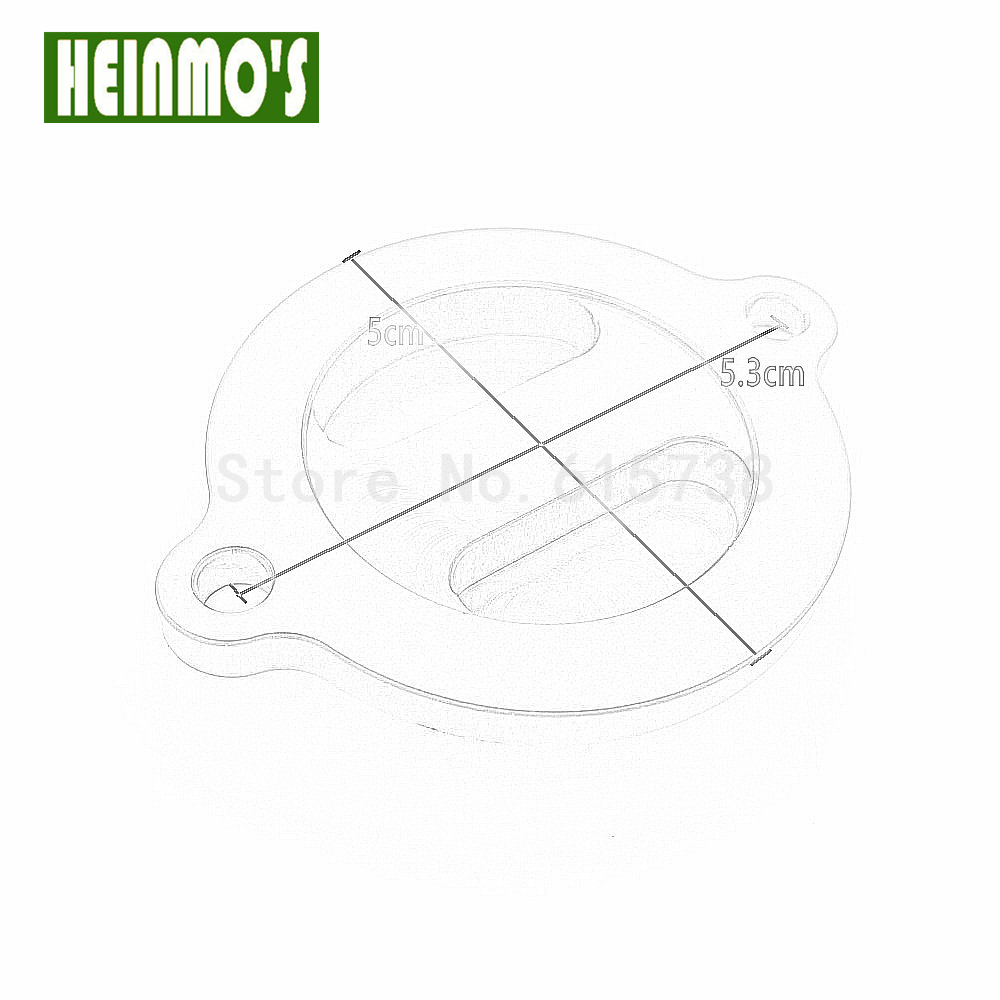 Aliexpress buy new arrival motorcycle cnc engine oil filter