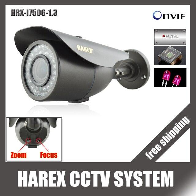 1280*960 P 1.3MP с 2.8 ~ 12 мм зум-объектив с переменным фокусным расстоянием ip-камера 42 ИК-светодиодов Onvif Водонепроницаемый ИК-plug and play, бесплатная доставка