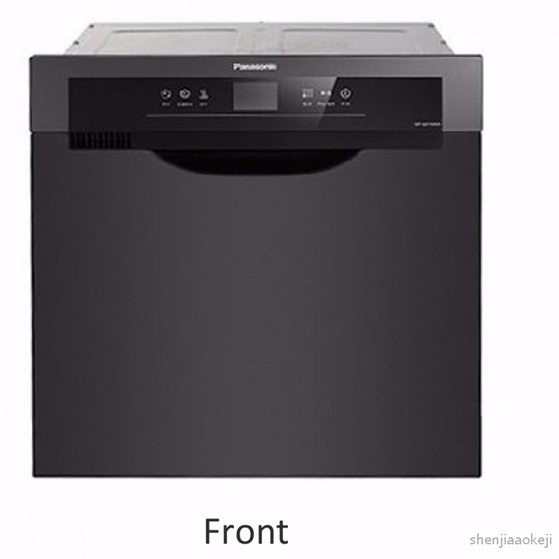 Intelligent Dishwasher Embedded Dishwash Machine High Temperature Sterilization Dish Washer Machine Kitchen Dish Washing Machine