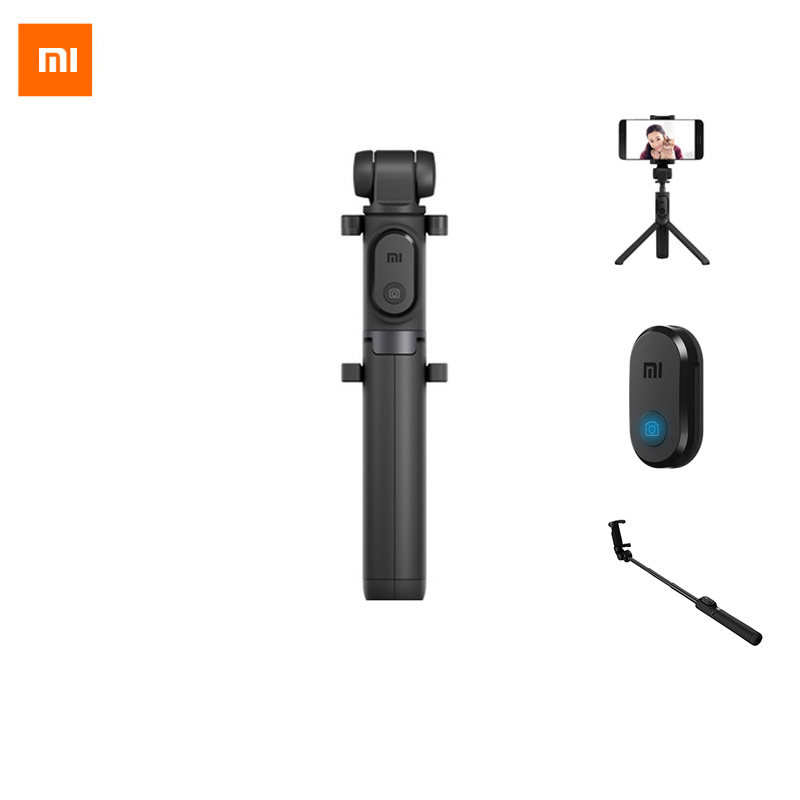 Xiaomi Extendable Handheld Tripod Selfie Stick Tripod Bluetooth 3 in 1 Monopod Self portrait For iPhone And Android Smartphone