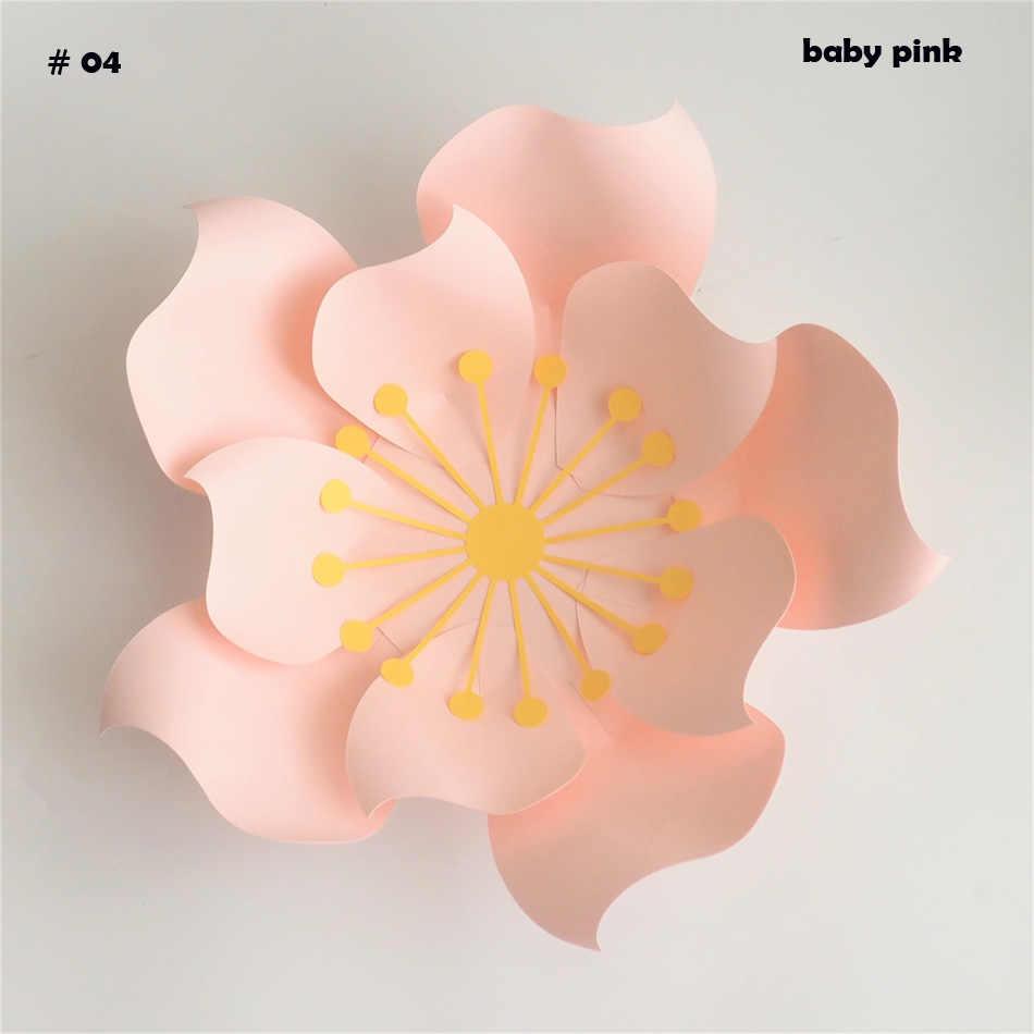 5 Minute Crafts Big Paper Flowers Backdrop Video Tutorial Large Rose