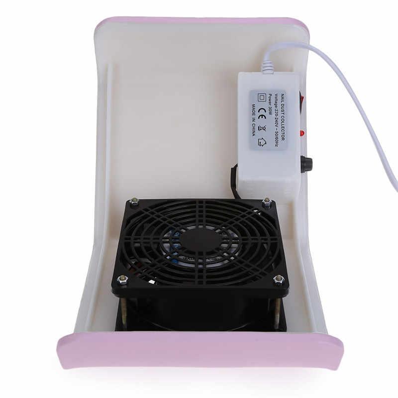 נייל אמנות שואב אבק עבור ג 'ל פולני דבק נייל מאוורר אבק יניקה אספן מניקור לנייל אמנות Manucure מכונה פדיקור כלי