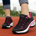 2016 New Women shoes Outdoor Brand Wedge Breathable Net cloth Climbing Casual Walking shoes Air damping Non-slip zapatos mujer