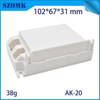 4pcs Best Price DIY plastic LED instrument Box Enclosure Case Project Electronic 102*67*31mm white color