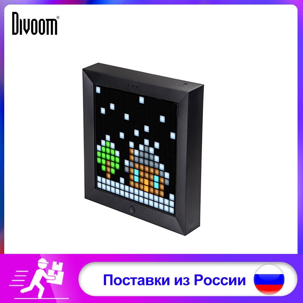 Divoom Pixel Art LED panneau numérique Bluetooth Wireles mode horloge alarme costume pour Android et IOS système de contrôle LED par App bricolage