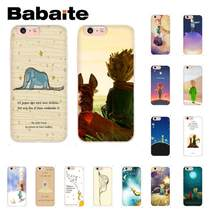 Babaite Little Pangeran Gajah Pola TPU Soft Phone Aksesoris Case untuk iPhone 6S 6 Plus 7 7 Plus 8 8Plus X XS Max 5 5S XR 10(China)