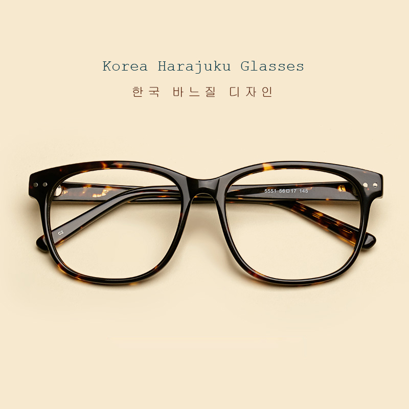 89315a12d1 LIYUE Fashion Round Glasses Frame Brand Designer Spectacles Plain ...