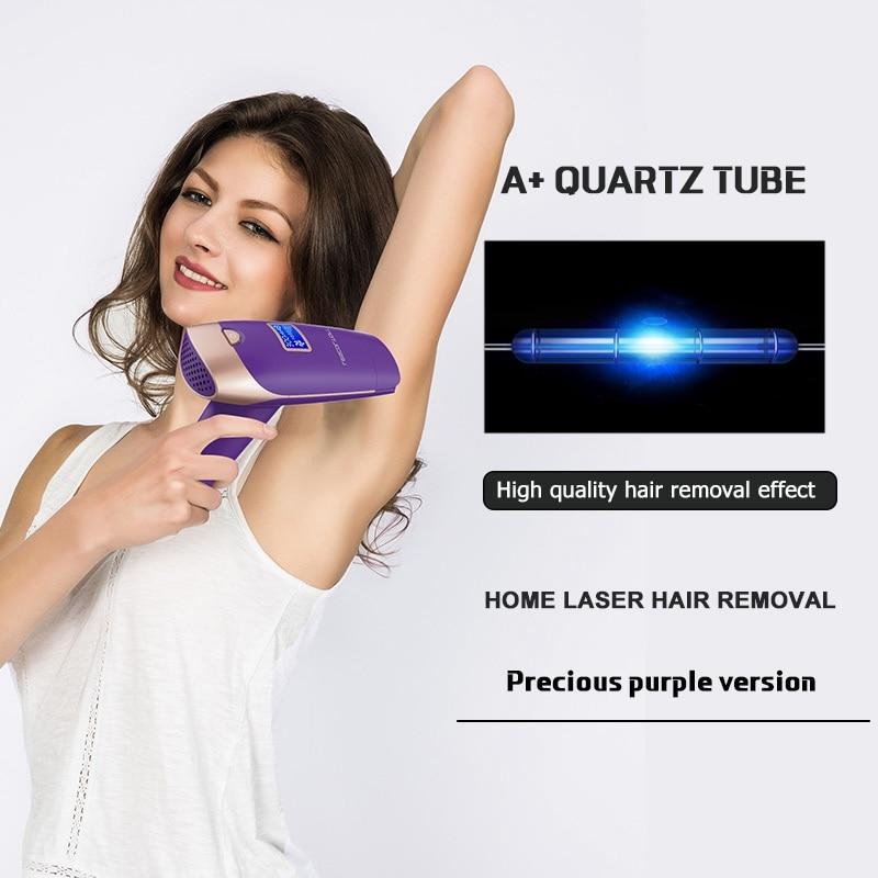 Epilator T009X Rumah Tangga Portabel Laser IPL Permanen Hair Removal - Mencukur dan menghilangkan rambut - Foto 3