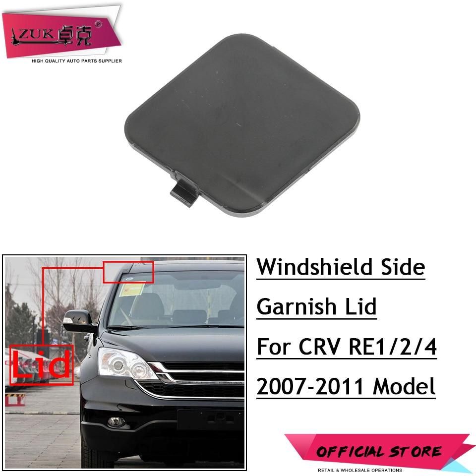zuk high quality windshield side garnish lid cover  honda crv      oem
