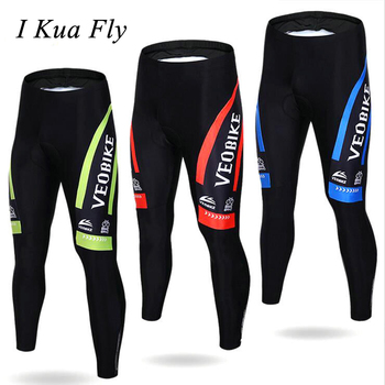 New Cycling Pants Men Padded Elasticity Breathable Wear Sport Maillot Mountain Bike Bicycle Running Long Pants z4