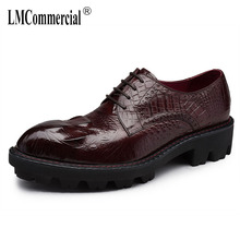 Genuine Leather designer high quality all-match cowhide mens luxury shoes men Business Men Shoes Dress