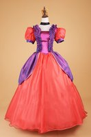 Princess Dress Adult Cinderella Step Sisters Costume Anastasia Dress Ball Gown Fancy Halloween Cosplay Costume For Adult Women