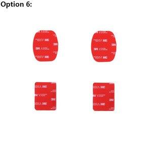 Image 5 - PeeynntสำหรับGoproอุปกรณ์เสริมโค้งแบบแบนชุดสติกเกอร์3MกาวสำหรับGo Pro Hero 9 8 7 6 5 4สำหรับDBPOWER Yi 4K AKASO EKEN