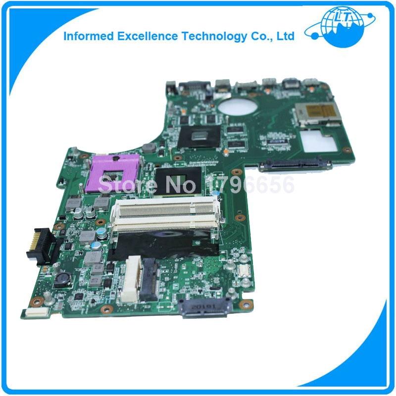 Laptop motherboard for ASUS N71V N71VG Mainboard fully tested with good appearance for dell v3300 laptop motherboard mainboard 48 4ex01 011 100