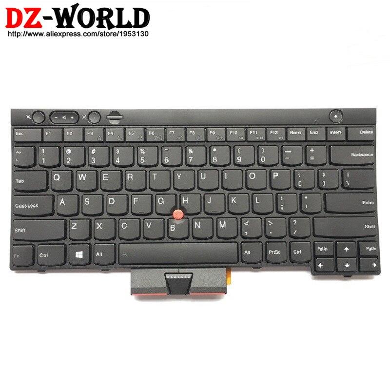 New/Orig US English Keyboard For Thinkpad L430 L530 T430 T430i T430S T530 T530i W530 X230 X230i X230T 04X1315 04X1201 04X1277