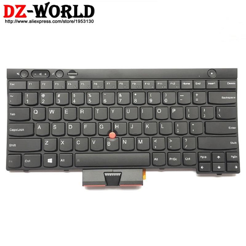New Original US English Keyboard for Lenovo Thinkpad X230 X230i X230T (X230 Tablet) Teclado 04X1315 04X1201 04X1277 0C01997 все цены