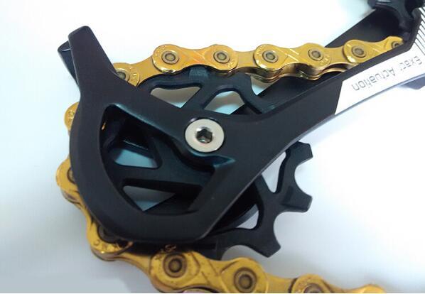 Bicycle rear derailleur pulley 12 t Jockey Wheel SRAM XX1 High composite resin Sealed Bearing Jockey Wheel