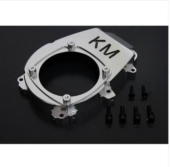 KM baja CNC Engine Fan Cover for 1/5 Hpi baja 5B Parts RC CARS