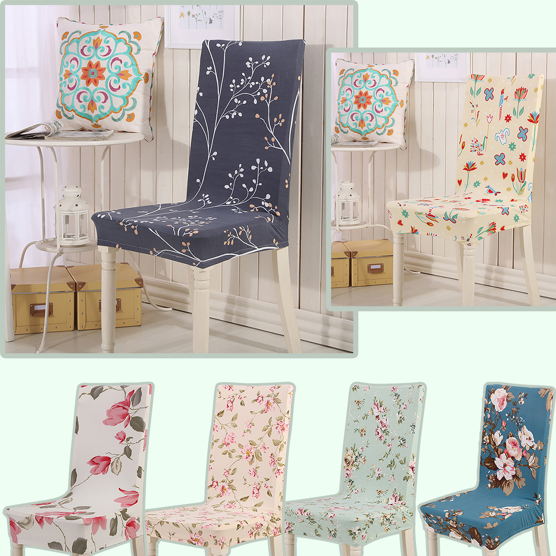 dining chair covers aliexpress fisher price infant buy pandex stretch cover