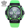 SMAEL Military Watches Army Dual Time Sport Watches for Men Digital Watch reloj hombre grande Fashion Casual Watches Men WS1310