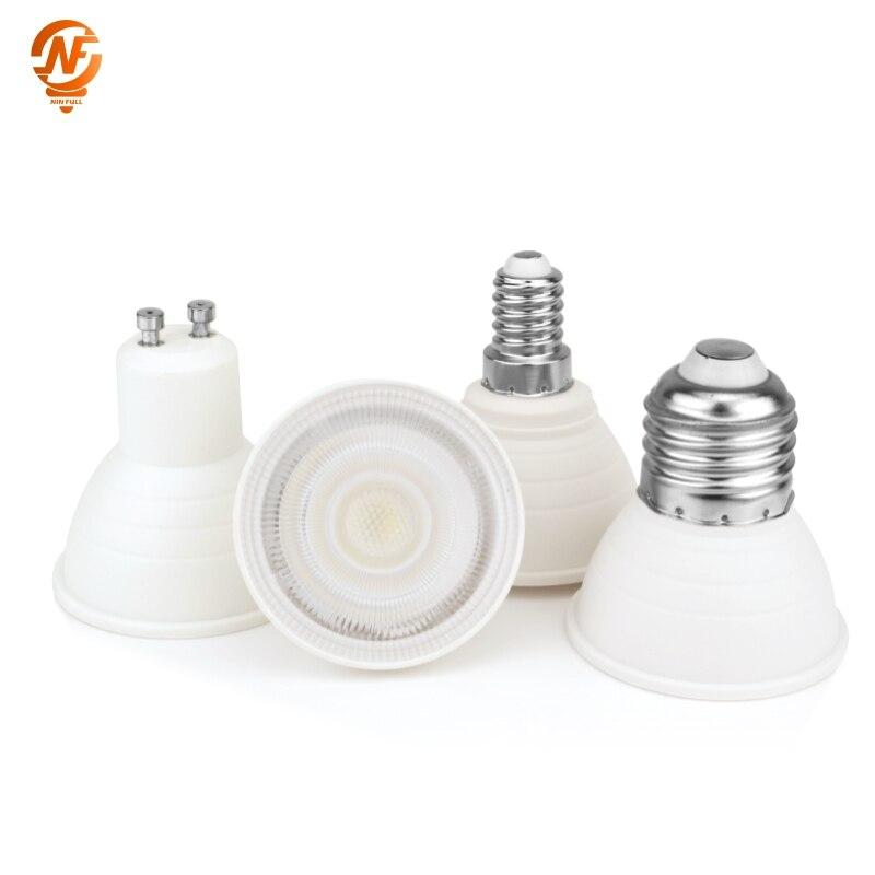 E27 LED E14 مصباح MR16 الأضواء لمبة 6 واط بقعة ضوء لمبة 220 فولت 2835 SMD لامبارا LED gu5.3 Bombilla GU10 led Ampul إضاءة المنزل