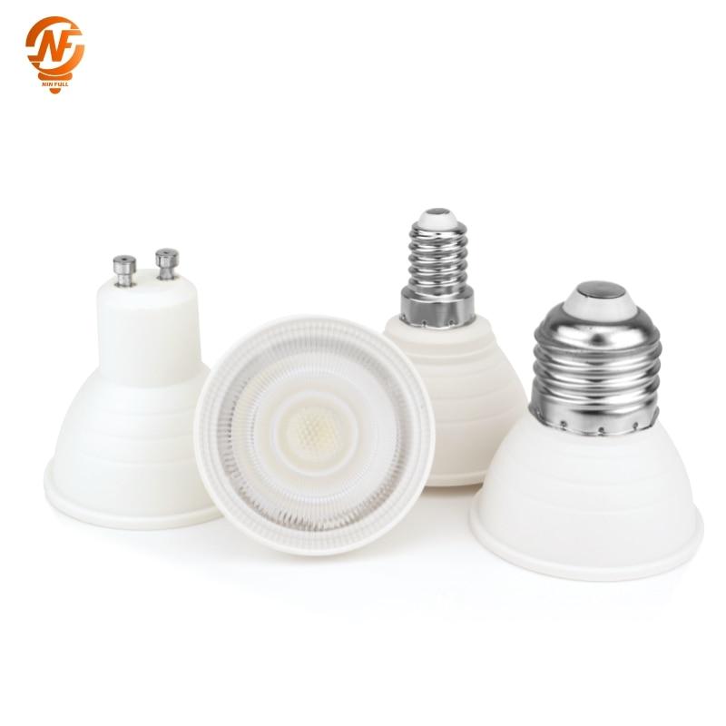 E27 LED E14 Lamp MR16 Spotlight BULB 6W Spot Light Bulb 220V 2835 SMD lampara LED gu5.3 Bombilla GU10 led Ampul Home Lighting