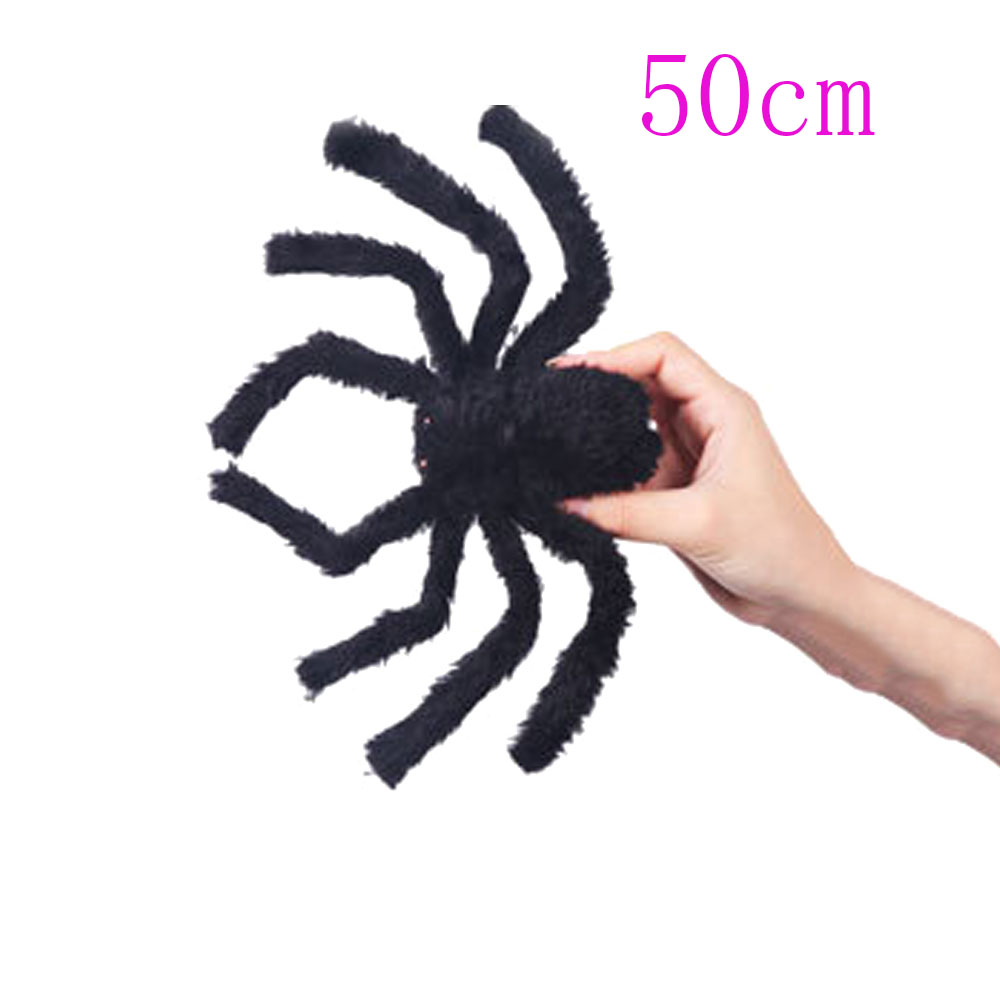 Halloween House Decoration 1 PC Hot Sale Funny Black Spider Props ...