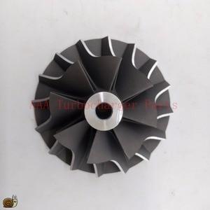Image 1 - T04B/T04E Turbo części koło sprężarki 45.8x70mm, ostrza 8/8 dostawca AAA części turbosprężarki