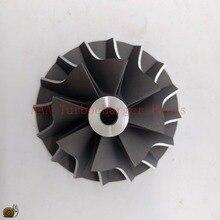 T04B/T04E Turbo parçaları Kompresör Tekerlek 45.8x70mm, bıçaklar 8/8 tedarikçi AAA Turbo Parçaları