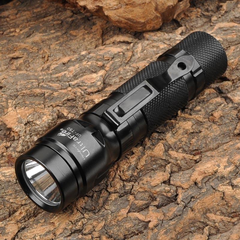 UltraFire UF-T50 800lm White 2-Mode Memory Dimming Flashlight - Black(1x18650/2xCR123A) veld co мини кукла mona с черепахой