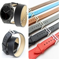 For Huawei Watch Leather Bands Accessories Leather Bands Double Tour Strap For Huawei Watch 18mm