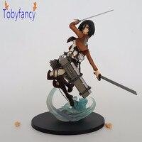 Aanval Titans Mikasa Ackerman PVC Action Figure Aanval Stijl Anime Aanval Titan Action Figure Shingeki Geen Kyojin