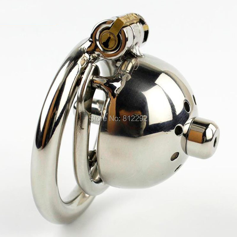NEW Super Small Male Chastity Cage With Removable Urethral Sounds Spiked Ring Stainless Steel Chastity Device For Men Cock Belt new super small male chastity cage with removable urethral sounds spiked ring stainless steel chastity device for men g7 183