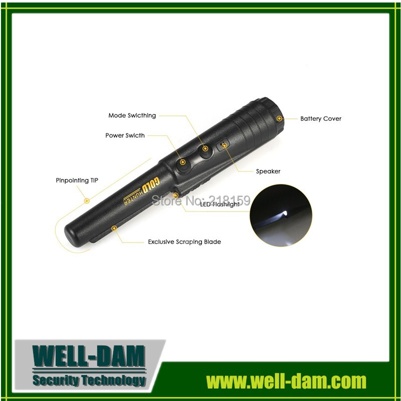 Free Shipping Pro-Pointer Gold finder,propointer handheld gold detector